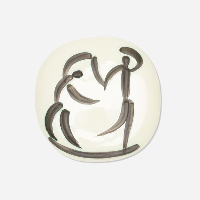Pablo Picasso, 'Danseurs plaque', 1956, Wright