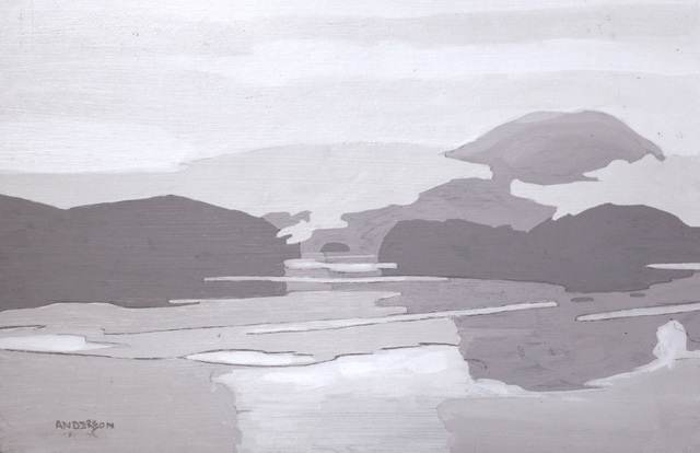 , 'Sketch for Morning Mist - Cordero Channel,' , Madrona Gallery