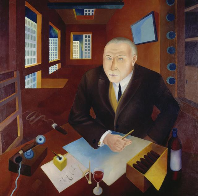 , 'The Profiteer (Der Schieber) ,' 1920-1921, Los Angeles County Museum of Art