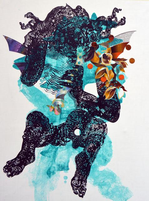 , 'Sea Gods,' 2015, Anna Laudel