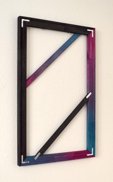, 'Black/Blue/Pink,' 2014, Castor Gallery
