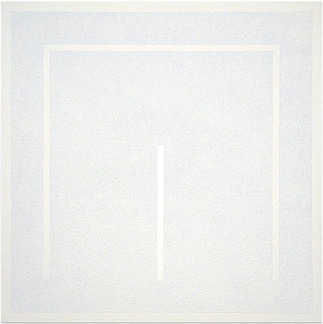 Gianfranco Zappettini, '《Superficie acrilica n.324》', 1974, Standing Pine