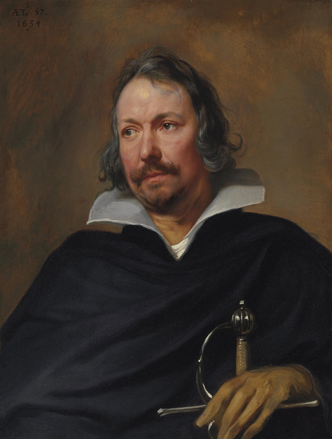 , 'Portrait of a Cavalier,' 1634, Christie's Old Masters