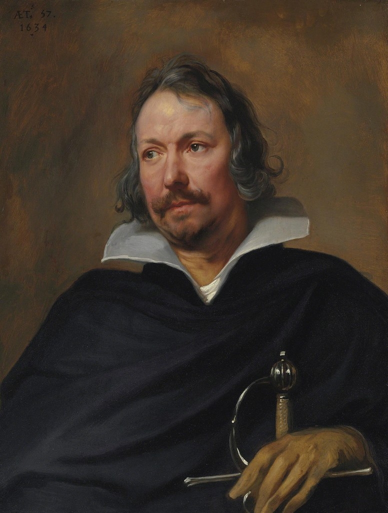 Anthony van Dyck, 'Portrait of a Cavalier,' 1634, Christie's Old Masters