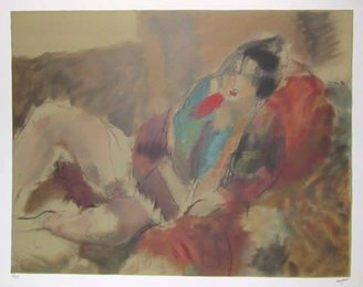 Jules Pascin, 'Marionette,' , Heritage Auctions: Holiday Prints & Multiples Sale