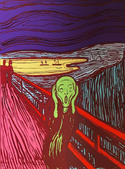 Andy Warhol, 'The Scream Green - Sunday B. Morning (After)', ARTEDIO
