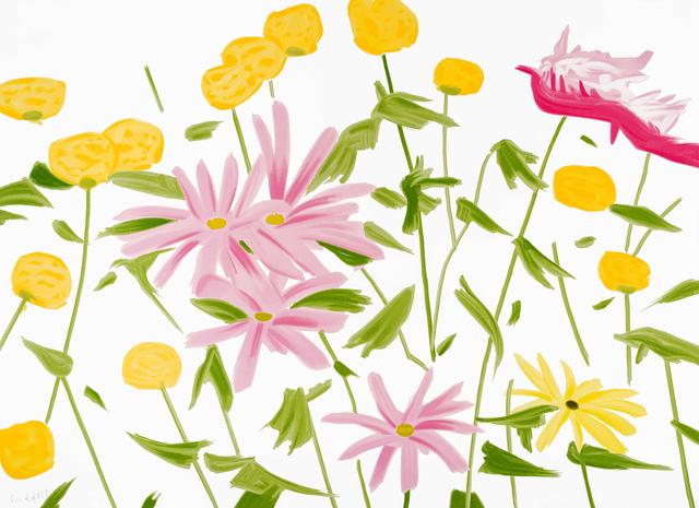 Alex Katz, 'Spring Flowers', 2017, Meyerovich Gallery