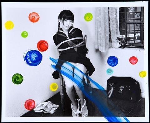 Nobuyoshi Araki, 'From the series 'PaINting'', 2010, CHRISTOPHE GUYE GALERIE