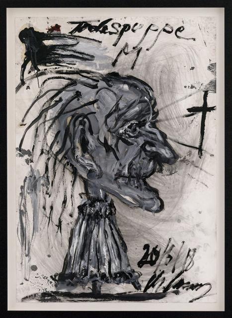 , 'Todespuppe,' 2018, Hans Alf Gallery