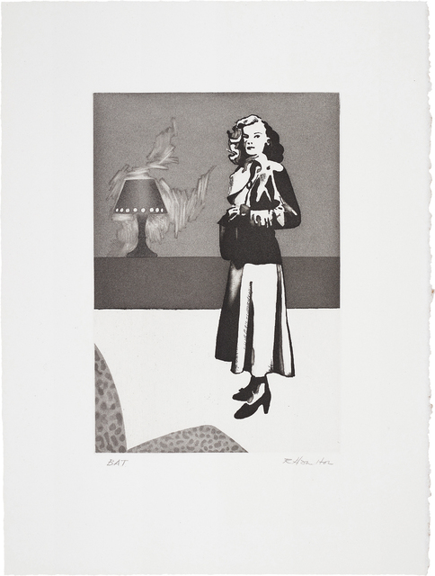 Richard Hamilton, 'Patricia Knight II', 1982, Print, Aquatint with scraper and burnisher, on Rives BFK paper, with full margins, Phillips