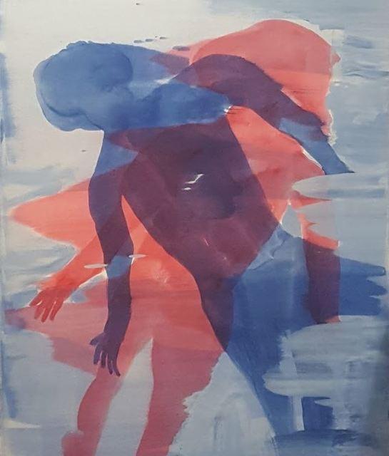 , 'Double Figure,' 2017, Maggio Art Consultancy