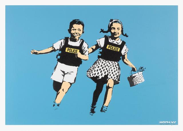 Banksy, 'Jack & Jill (Police Kids) (Unsigned)', 2005, Prescription Art