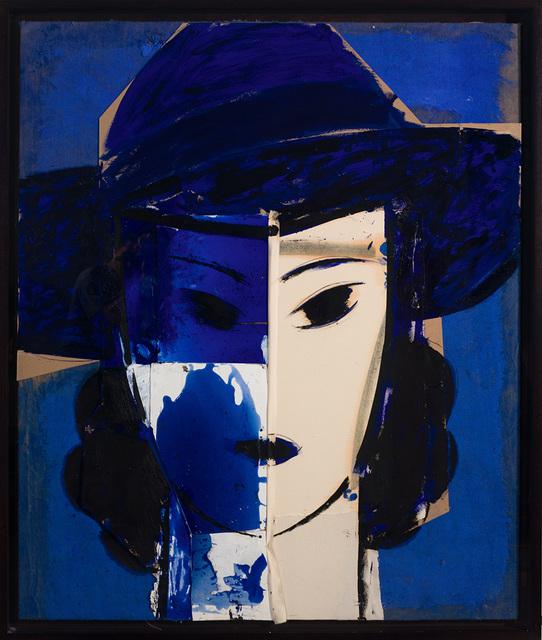 Manolo Valdés, 'Dama con Sombrero Azul', 2017, Rosenbaum Contemporary