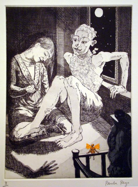 , 'Sewing on the Shadow III,' 1992, Marlborough Gallery