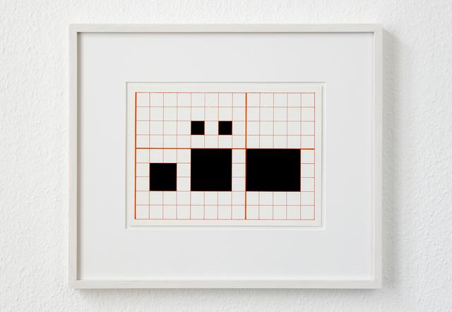 , 'LANGUAGE SERIES L, 1-4-5,' 1964, KW Institute for Contemporary Art