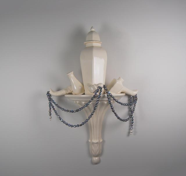 Matt Smith (British), 'Spoils', 2021, Sculpture, White Earthenware with Freshwater Pearls, Cynthia Corbett Gallery
