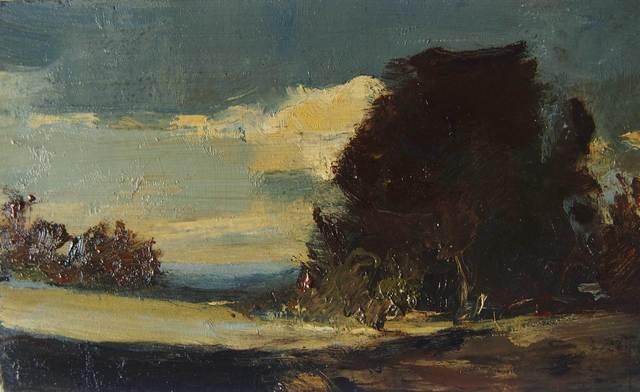 , 'Ballyglass oil sketch,' , Mall Galleries