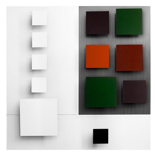 , 'Blanc et couleur,' 1990, Espace Meyer Zafra
