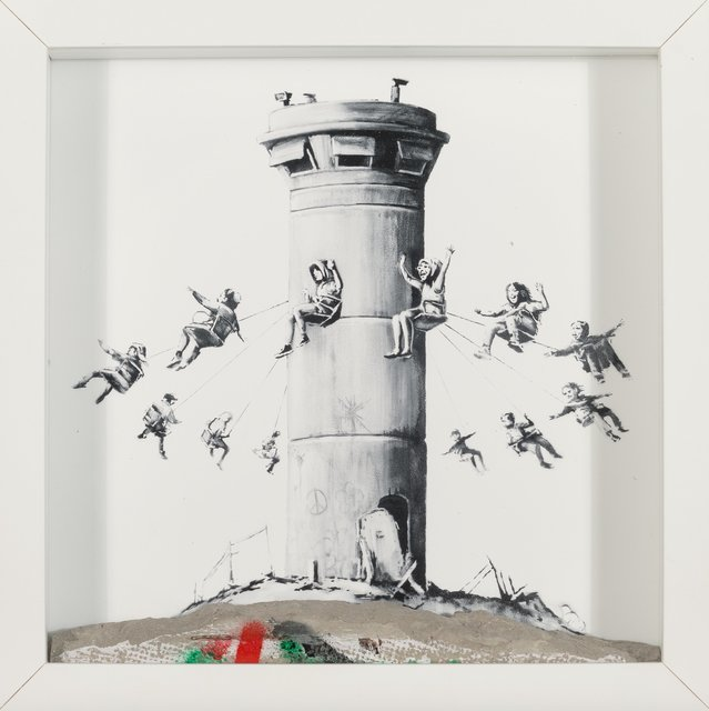 Banksy, 'Walled Off Hotel Box', 2017, Heritage Auctions