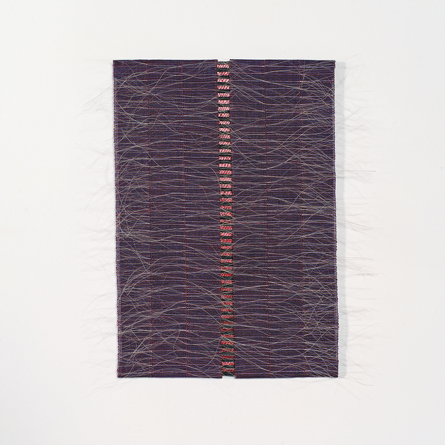 Adela Akers, 'Red Passage', 2003, Textile Arts, Linen, horsehair, metal, browngrotta arts