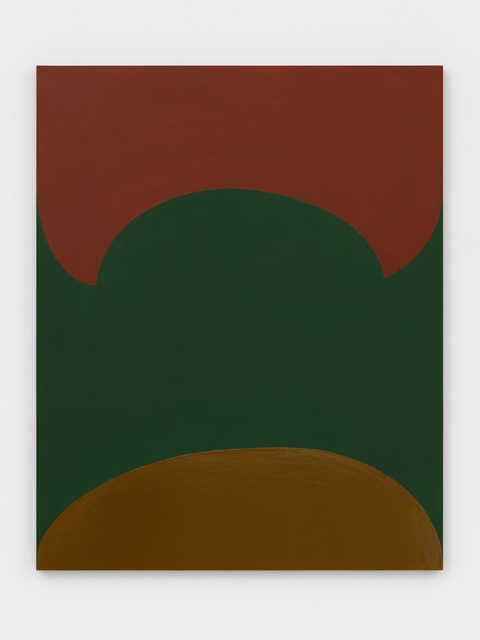 , 'from composition with orange and green (nicosia),' 2017, David Zwirner