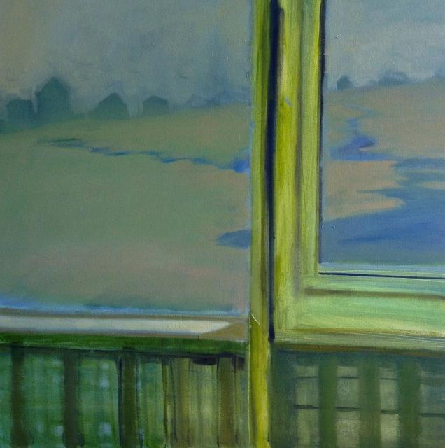 , 'Cape thru open Window,' 2015, Bowersock Gallery