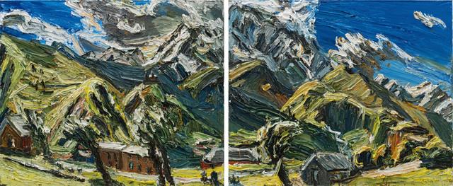 , 'Kasbek-Duett,' 2017, Galerie Kornfeld