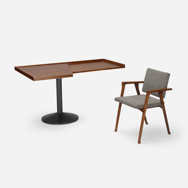 Franco Albini, 'Stadera desk with Luisa armchair', 1954, Wright