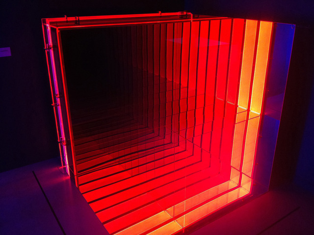 Chul-Hyun Ahn, 'Quarter Infinity', 2011, Sculpture, Cast acrylic, LED lights, hardware, mirrors, C. Grimaldis Gallery
