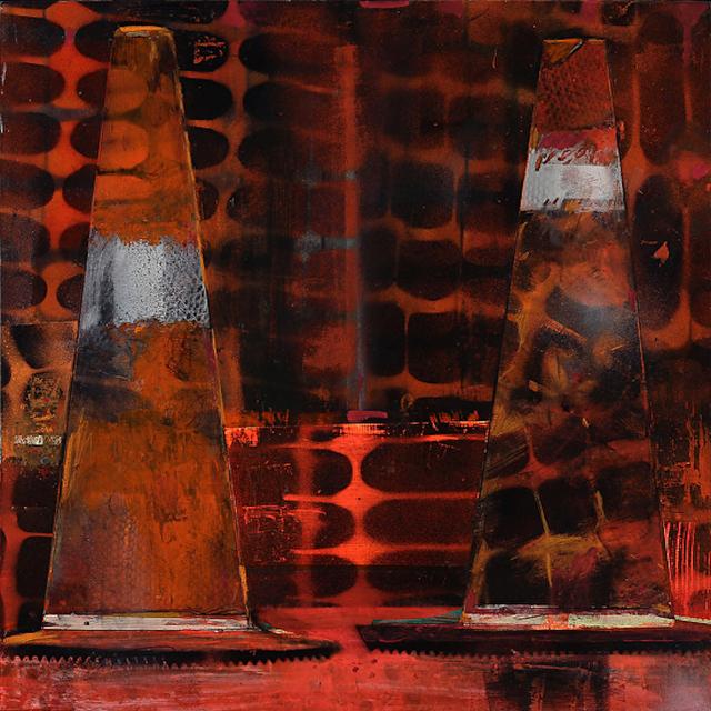, 'Cones: Night Pentimenti / Cautionary Tales ,' 2015, Andra Norris Gallery