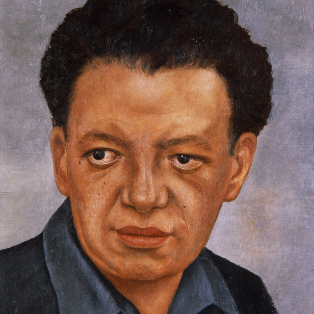 Frida Kahlo, 'Portrait of Diego Rivera', 1937, Art Gallery of New South Wales