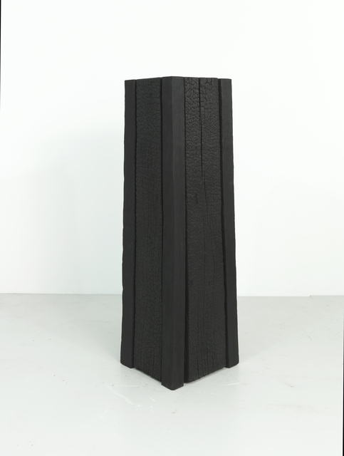 , 'Black Leaning Tower,' 2002, Annely Juda Fine Art
