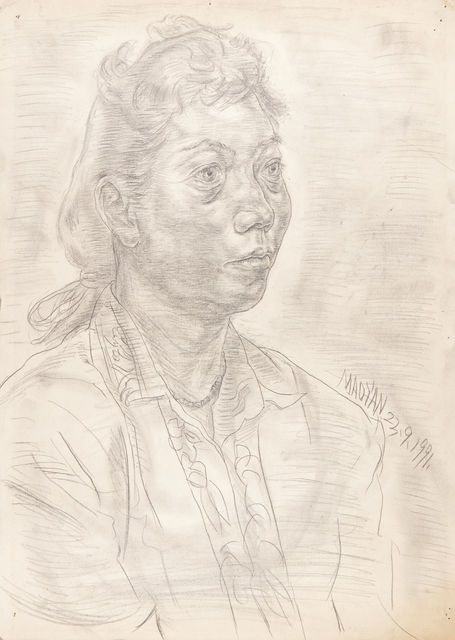, 'Portrait of a Woman,' 1991, HDM Gallery