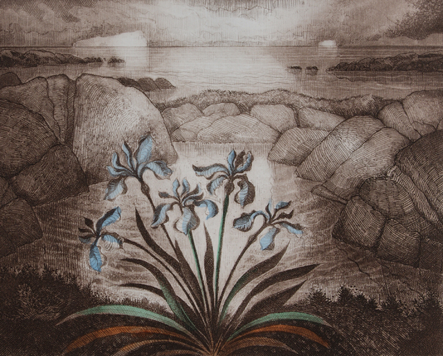 David Blackwood, 'June Visit ', 2000, Abbozzo Gallery
