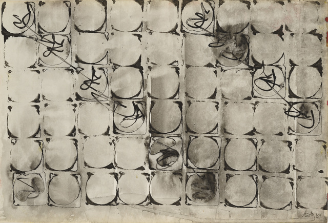 Brion Gysin, 'Gracias a Matta', 1961, Galerie Natalie Seroussi