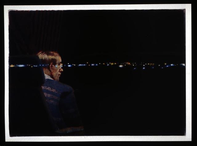 Erik Bulatov, ' Dans le train', 1999  , A3 Arndt Art Agency