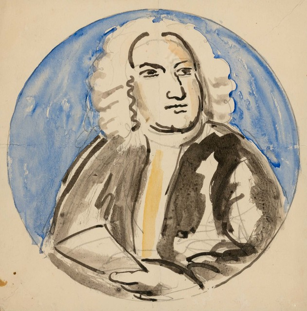 Vanessa Bell, 'Design for Plate: Jonathan Swift', 1931, Doyle