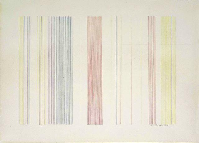 Gene Davis, 'Ferris Wheel', 1973, Nikola Rukaj Gallery