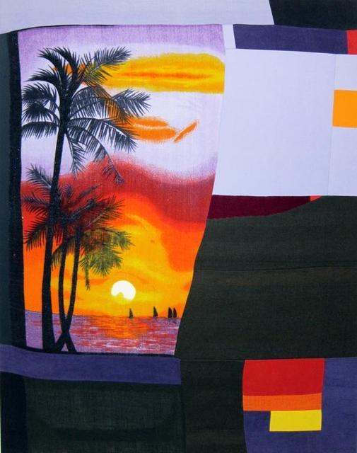 , 'Rhumb Sunset,' 2015, Galerie Antoine Ertaskiran