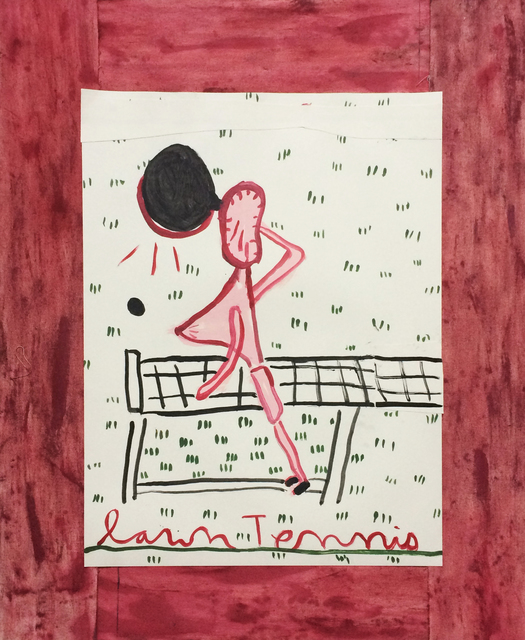 , 'Tennis Player, Black Racquet,' 2017, CHOI&LAGER