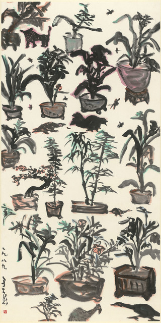 , 'The Garden Full of Potted Planets,' 1989, Liang Gallery