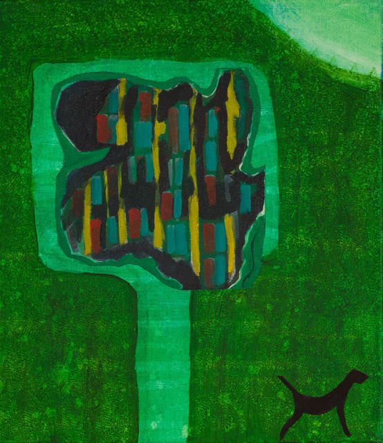 David Harkins, 'The Tree', 2018, Painting, Acrylic on canvas, Candida Stevens Gallery