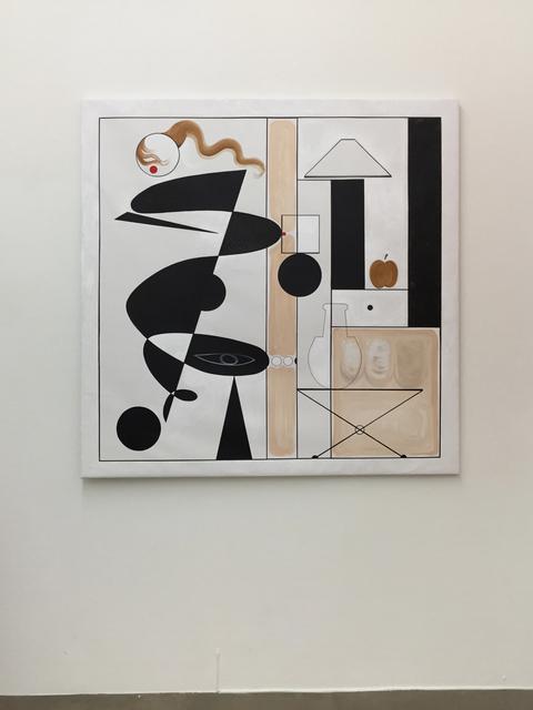 Adriana Minoliti, 'White Anormal Modulor', 2016, Agustina Ferreyra