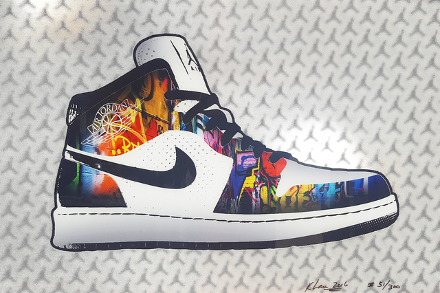 , 'Air Jordan 1,' 2016, Madelyn Jordon Fine Art