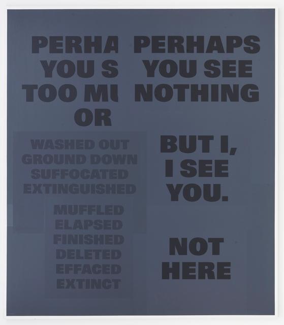 , 'Esquisses perceptives - tableaux No. 31,' 1986-1994, Mai 36 Galerie