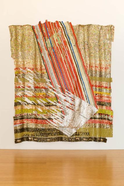 El Anatsui, 'Change in Fortune', 2018, October Gallery