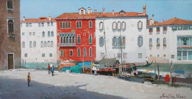 , 'Venetian Red House,' 2005, Paul Scott Gallery & galleryrussia.com