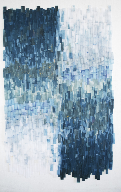 Lyndi Sales, 'Within the iceberg is conscious light and sentient darkness', 2017, Galerie Maria Lund