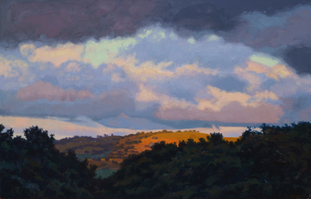 Bruce Everett, 'Clearing', 2018, Painting, Oil on canvas, George Billis Gallery
