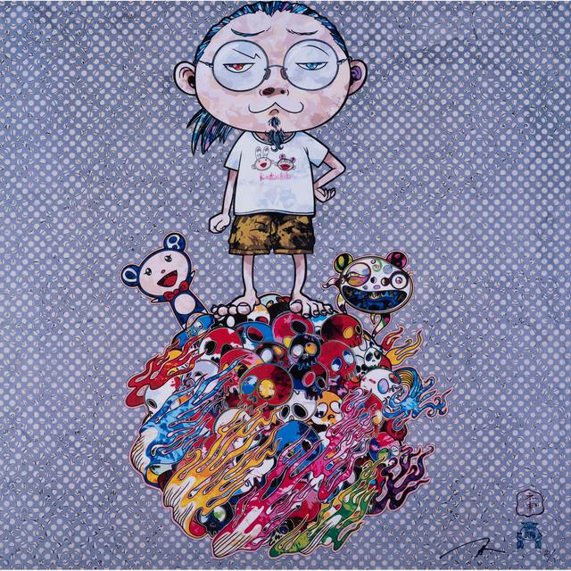 Takashi Murakami, 'Mr. DOB Comes to Play His Flute', 2013, PIASA
